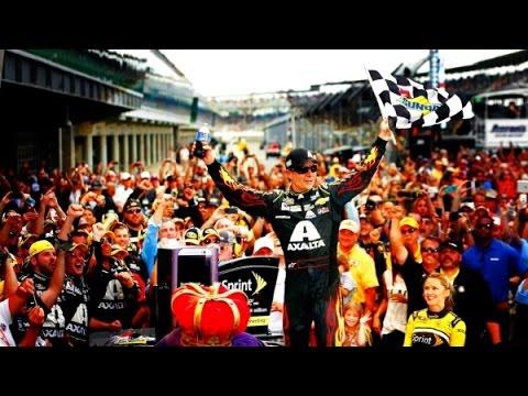Jeff Gordon Career Win #90 2014 John Wayne Walding 400 At the Brickyard HD