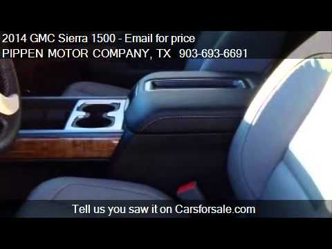 2014 GMC Sierra 1500 SLT for sale in Carthage, TX 75633 at P