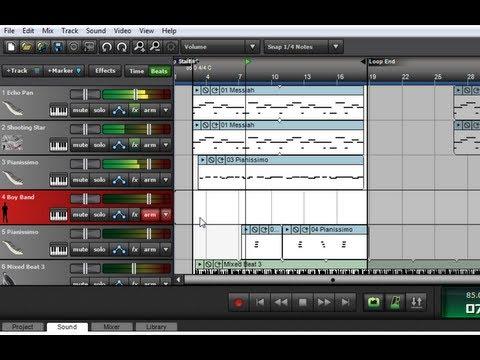 Mixcraft 6 Tutorial