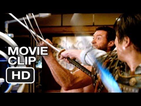 The Wolverine Movie CLIP – Shingen Fight (2013) – Hugh Jackman Movie HD