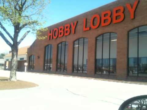 Claudette is mad at Hobby Lobby Stores