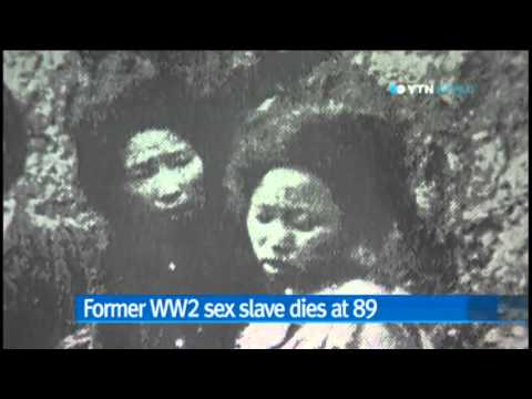 Former World War Two Sex Slave For Japanese Army Dies At 89   Ytn video