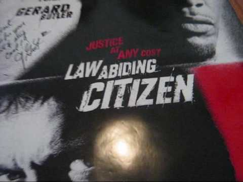 Law Abiding Citizen Poster I Received From F Gary Gray
