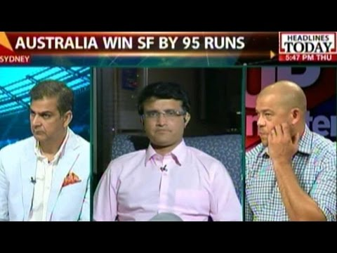 Sourav Ganguly: Australia Was A Far-Superior Side