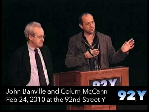 0 John Banville and Colum McCann at the 92nd Street Y