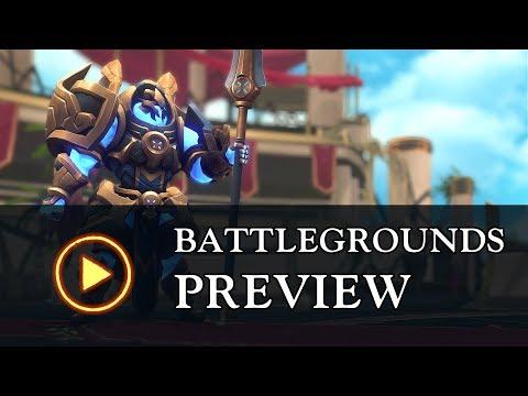New Game Mode: Battlegrounds