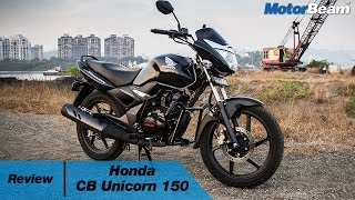 2017 Honda Unicorn 150 Review | MotorBeam