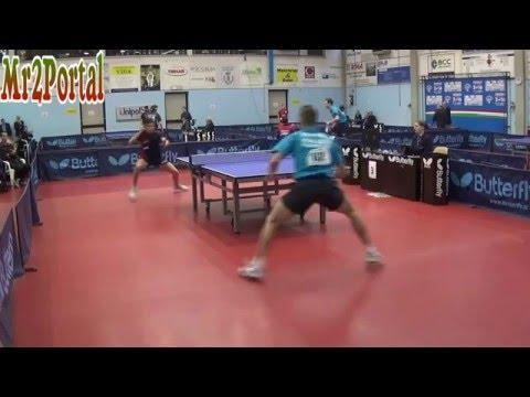 Table Tennis Italian Championships 2016  - Daniele Pinto Vs Alessandro Baciocchi -