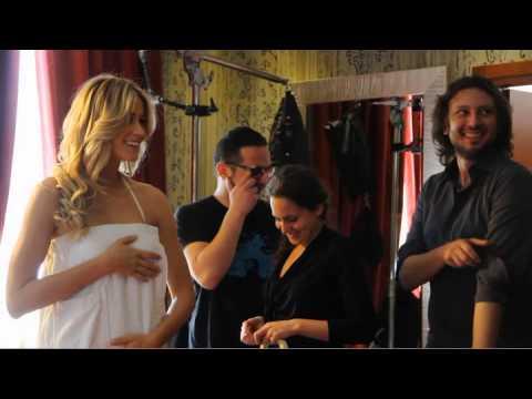 Elena Santarelli GLAMme by Celly backstage – #Glamyourself