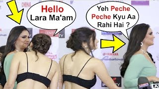 Lara Dutta Trying To Avoid Aahana Kumra At Miss Diva Miss Universe 2018