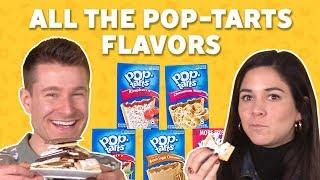 We Tried All the Pop-Tarts Flavors | TASTE TEST