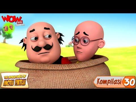 Kompilasi - 30 | Motu Patlu dalam Bahasa - Animasi 3D Kartun | WowKidz Indonesia thumbnail
