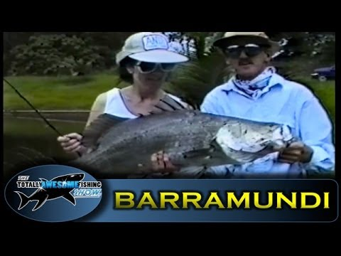 Lure fishing for Barramundi - Totally Awesome Fishing (VINTAGE SERIES)