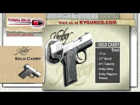 Kimber Solo Carry Review