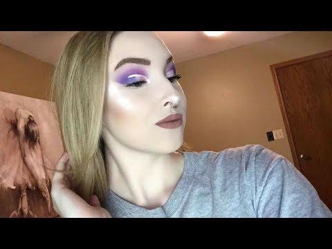 Dramatic Purple Makeup Look