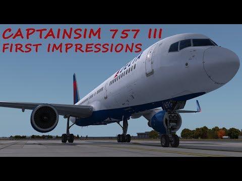 Prepar3d v4 757 Captain III First Impressions and Review LIVE!