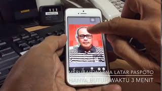 download lagu Rahasia: Cara Mudah Merubah Warna Latar Paspoto Menggunakan Iphone gratis