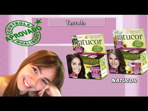 Pintar o cabelo com Natucor