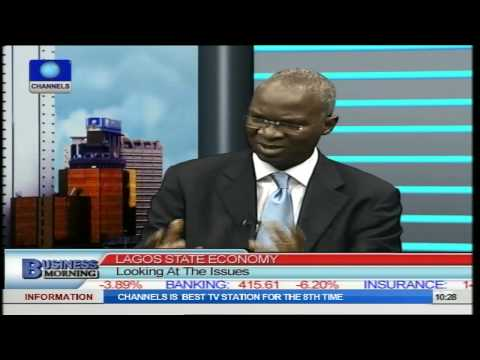Business Morning: Governor Fashola Speaks On Lagos State Economy And Issues PT2