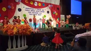 Comelnya anak2 preschool dance chinese song