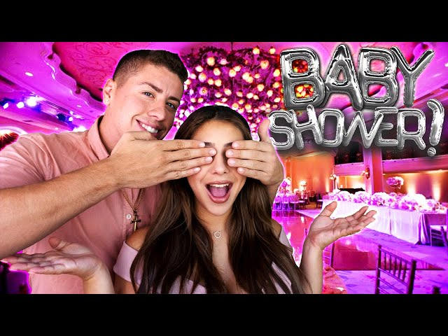 BEST BABY SHOWER SURPRISE EVER!!! *SHE HAD NO IDEA* thumbnail