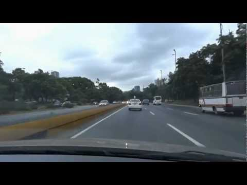 On the Way to Caracas Airport