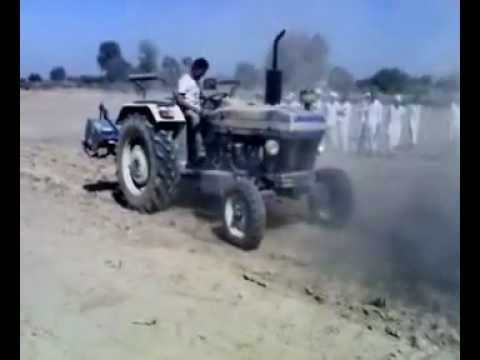 Crazy Tractor Stunt video