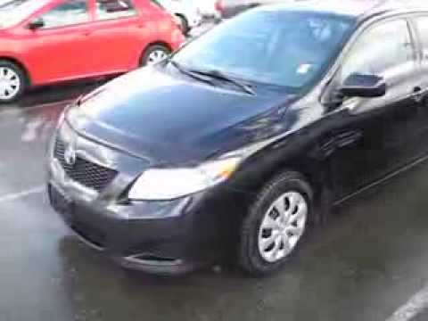 (SOLD) 2010 Black Toyota Corolla Preview, At Valley Toyota Scion In Chilliwack B.C. # 14704A