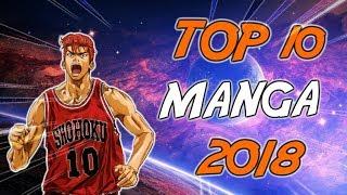 TOP 10 MANGA 2018
