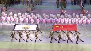 Opening ceremony of 7th Military World Games held in Wuhan
