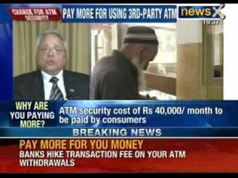 Pay More for Your Money: Banks hike transaction fee on ATM Withdrawals - NewsX