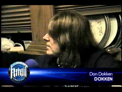 Don Dokken On Robbs Metalworks 2002 video