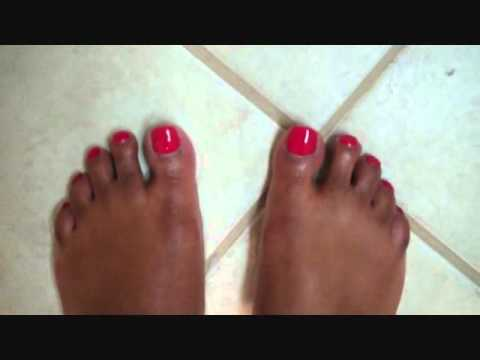 Shellac Nails by Creative Nail Design (Hybrid Nails) Wildfire Color