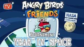 Angry Birds Friends - Year In Space SECOND Tournament All Levels - ANGRY BIRDS Gameplay