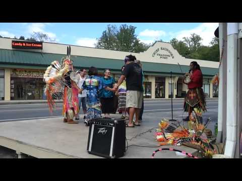 The NC East Band Old By Blood Cherokee Native Indin American...