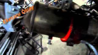 2010 Model Ford Focus Partükül Filtresi Temizleme İşlemi Okay Egzoz
