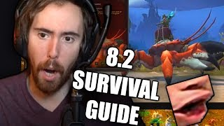 """Asmongold Reactions """"Rise of Azshara Survival Guide - Update Live on June 25"""""""