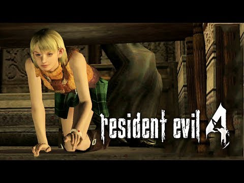 RESIDENT EVIL 4 - #12: Controlando a Ashley!
