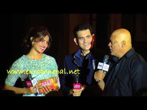 Priyanka Chopra & Sunil Thapa at the Music Launch of MARY KOM | EuropeNepal.Net