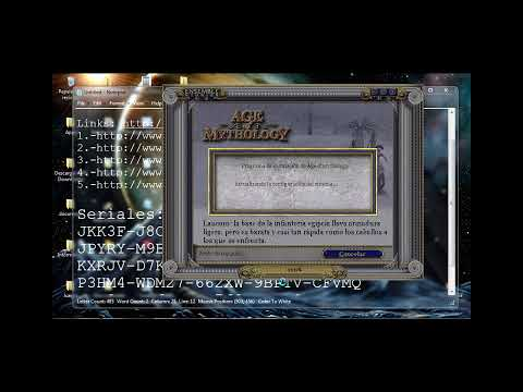 Tutorial de como descargar e instalar age of mithology espanol u full