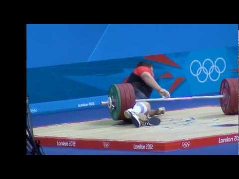 London Olympics 2012 Matthias Steiner: weightlifter OK after barbell accident