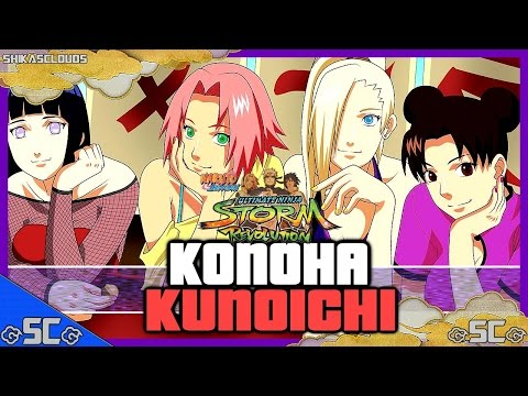 ●training With Konoha's Kunoichi! | Naruto Revolution【1080p Hd 60fps】● video