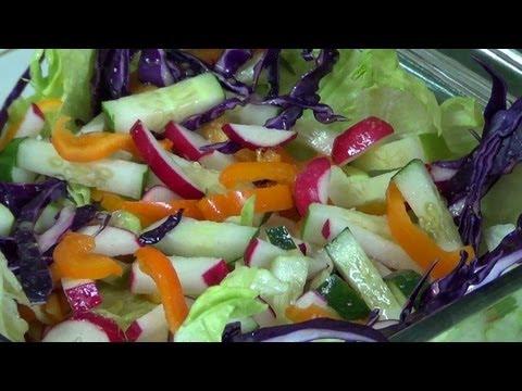 Ensalada de Vegetales - Como hacer una ensalada de vegetales deliciosa. -PekisKitchen