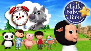 What's The Time Mr Wolf? | Nursery Rhymes | Original Song By LittleBabyBum!