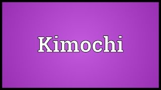 Kimochi Meaning