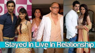 Top 10 Bollywood Live in relationship Couples  | The Laddu