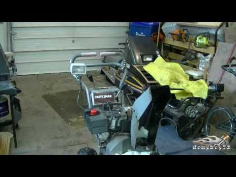 Murray - Craftsman Snowblower Chute Gear Repair