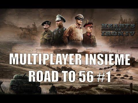 HOI IV Multiplayer Insieme - The Road to 56 #1 -  NORVEGIA