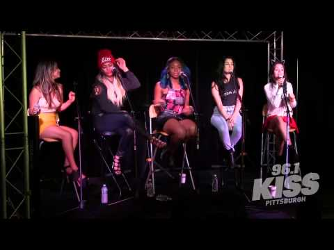 Fifth Harmony - Reflection At 96.1 Kiss Pittsburgh video