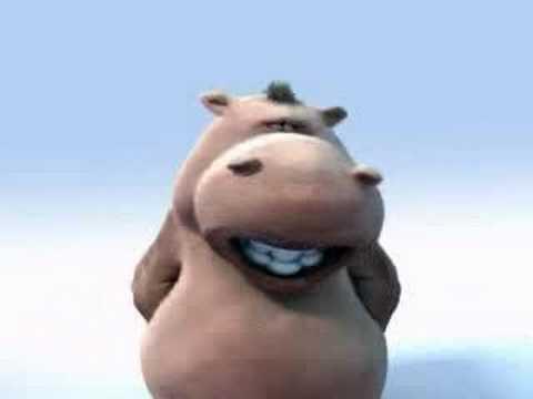 Hipopótamo cantando